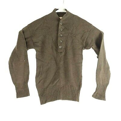 NEW MILITARY SWEATER MEN/'S SIZE SMALL 34-36