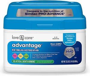 Love & Care Milk-Based Infant Formula Non-GMO, Gluten-Free ...
