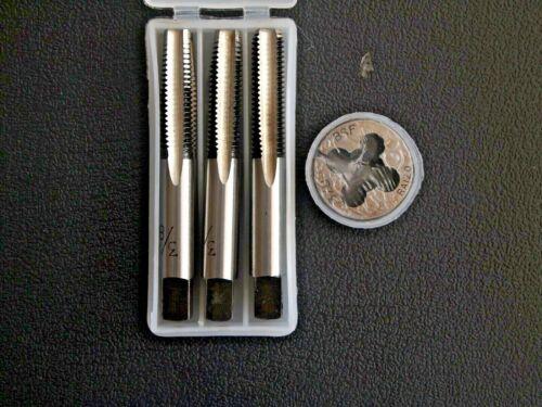 BSF ROBINETS Die Set 3//8 x 20 TPI plug conique deuxième NEUF