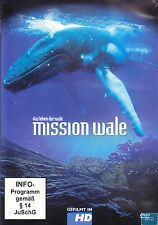 MISSION WALE + DVD + Das Leben der Wale + Eine spannende Entdeckungsreise in HD