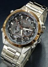EQS-500DB-1A2 Black Casio Men Watches Edifice Perpetual Calendar Solar power