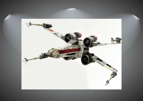 X Wing Star Wars Large Art Poster Print A0 A1 A2 A3 A4