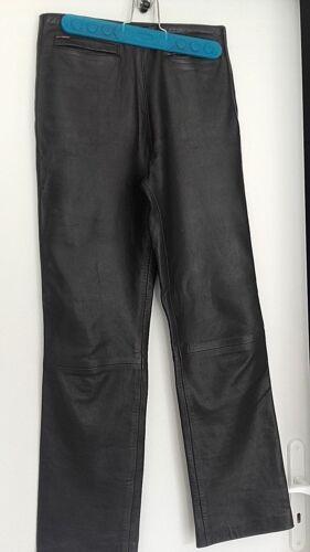 Angel Arc cuero pantalones 38 Tbe cordero de de talla ddartxwz