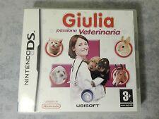 GIULIA PASSIONE VETERINARIA NINTENDO DS DSi 3DS 2DS ITALIANO COMPLETO COME NUOVO