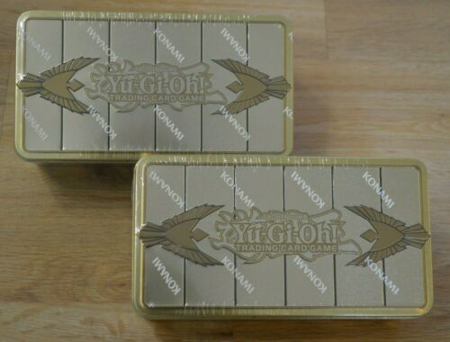 2x Gold Sarcophagus Mega Tin 2019 allemand NOUVEAU /& NEUF dans sa boîte Yu-Gi-Oh