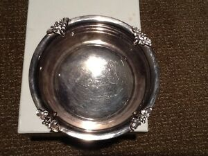 Fisher Silversmiths Silverplate Alexandria Pattern Antique