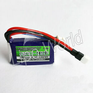 Nano-Tech-2S-7-4V-25C-50C-180mAh-LiPo-Akku-E-Flite-UMX-EFLB1802S20-Walkera-RC