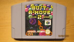 Bust a Move Bust-a-Move 2 for Nintendo 64 N64. Cart Only. Pal