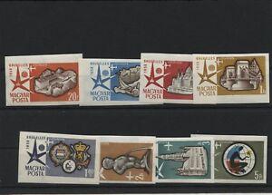 Ungheria-Ungheria-Annata-1958-Mi-1519-1526-B-Non-Timbrato-MNH-Posta-Aerea