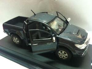 Toyota Hilux Vigo Champ Model 1 43 Dark Gray Mica Metallic Color