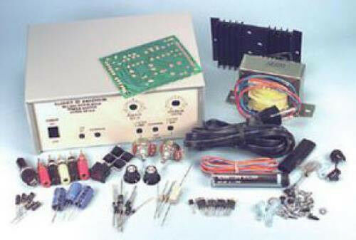 NEW Variable Regulated Power Supply Kit.Short Circuit Protection.Ventilated Case