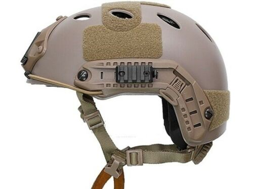 FMA Carbon PJ Style Tactical FAST OPS Helmet TB389 L//XL Size TAN DE