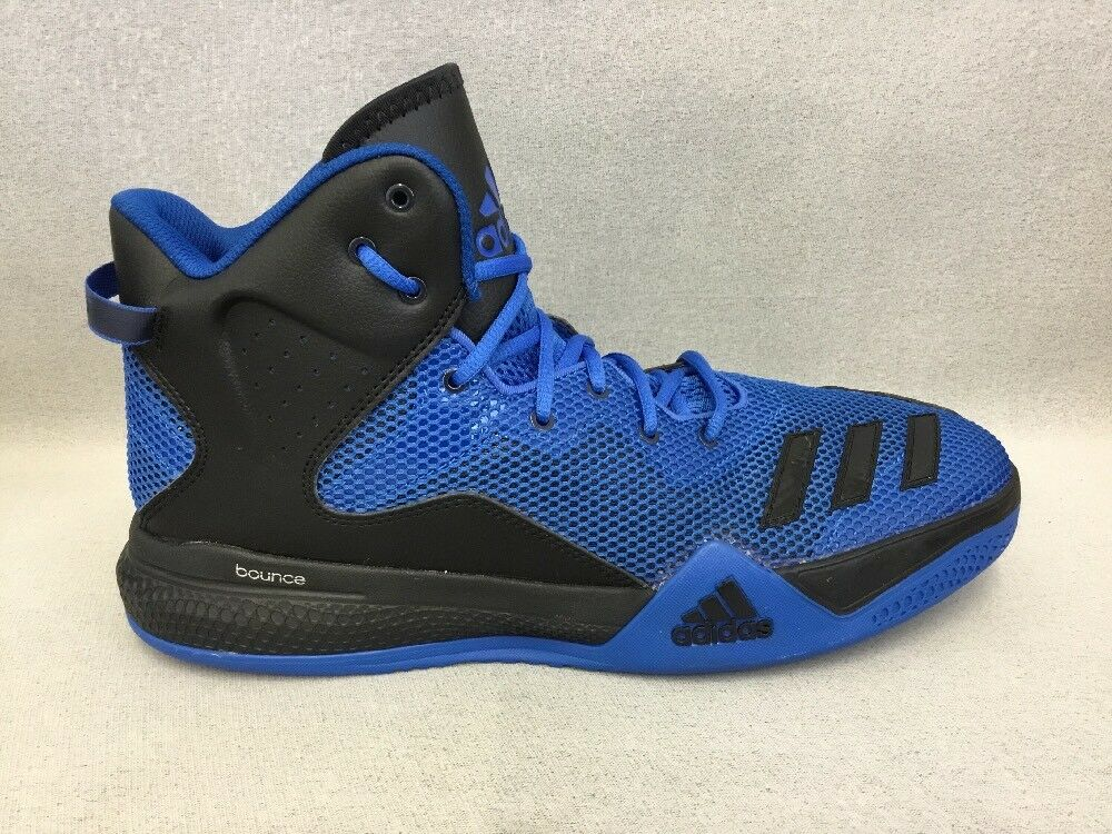 Adidas Performance B42802 Men's DT Bball Mid Basketball shoes bluee  BR1