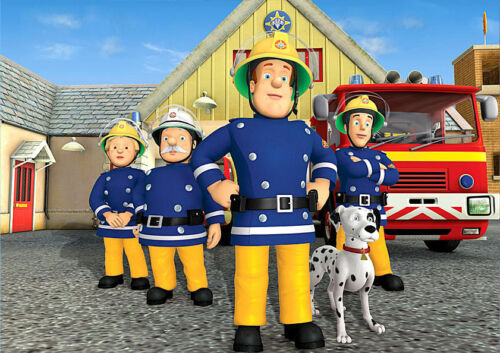 /'FIREMAN SAM/' A4 POSTER PRINT POSTED WITHIN 24 HOURS OF CLEARED PAYMENT!!