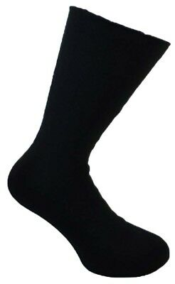 UK Size 6-11 1 Pair Mens Charcoal Comfort Insulated Acrylic Thermal Bed Socks