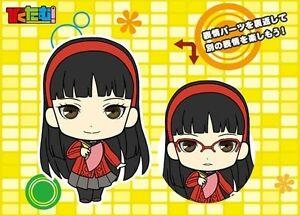 Persona 4 Piktam Girls Yukiko Rubber Phone Strap Anime Manga Mint Ebay
