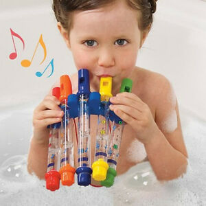 New Kids Children Summer Bathing Shower Playing Bath Tub Water Flute Music Toy
