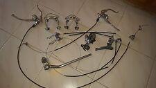 Vintage Shimano bike brake and gear system
