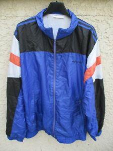 Détails sur Veste ADIDAS nylon parachute 90's tracktop jacket jacke vintage oldschool 186 XL