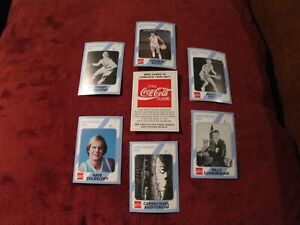 LOT OF 6 NORTH CAROLINA BASKETBALL CARDS, 1989 COLLEGIATE COLLECTION W/BOX