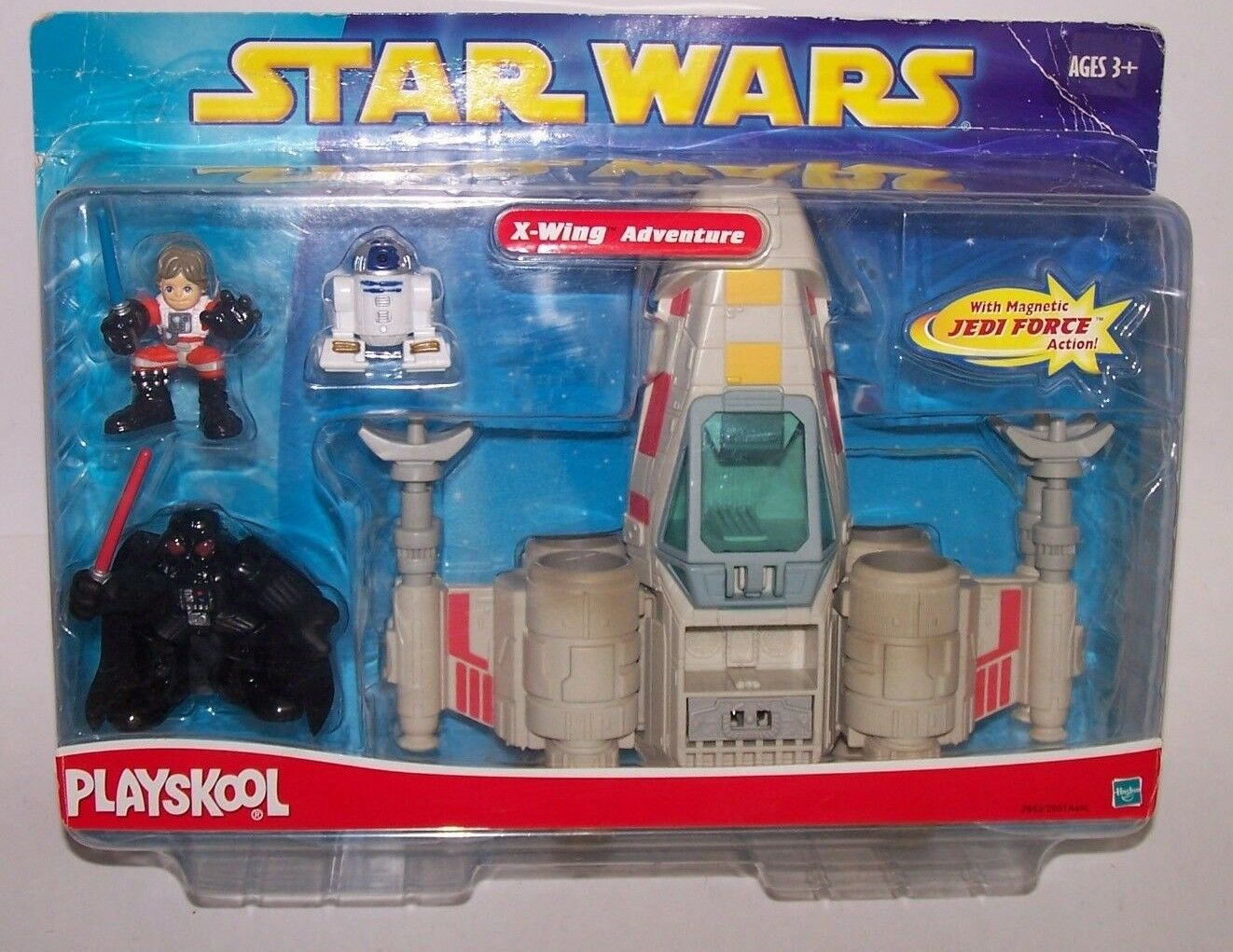 Star Wars X-Wing Adventure with Magnetic Jedi Force Action Playskool NIB