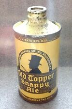 Old Topper cone top beer can