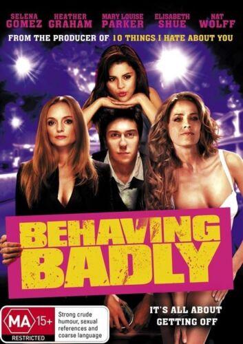1 of 1 - Behaving Badly DVD Region 4 (VG Condition)