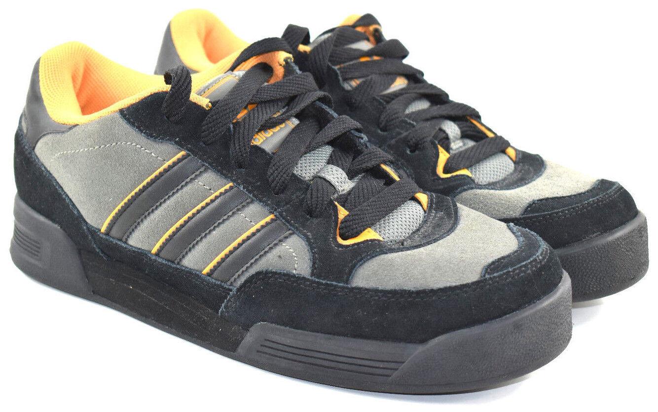 Adidas cuero calzado amarillo   negro alemán 9,5 670502