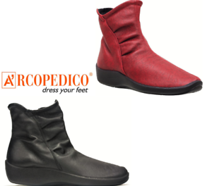 Arcopedico Shoes L19 comfort ankle boots - smooth colours
