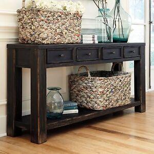 Image Is Loading Ashley T732 4 Signature Design Gavelston Sofa Table