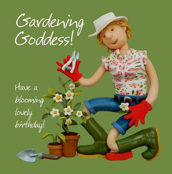 Holy Mackerel Birthday Greeting Card Gardening Goddess For Sale Online