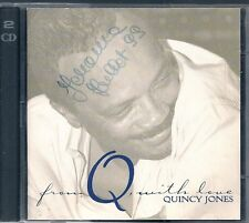 2 CDS COMPIL 26 TITRES--QUINCY JONES--FROM Q WITH LOVE