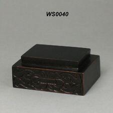 WS0027 Netsuke Display Hard Wood Stand For Figurine