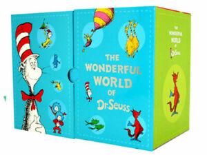 The-Wonderful-World-of-Dr-Seuss-20-Books-Box-Hard-Cover-Kids-Gift-Set-Pack-New