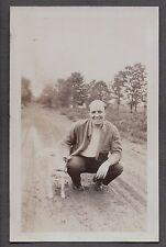 VINTAGE 1929 CLEVELAND OHIO FIREMANS FIRE DEPARTMENT DOG RAT TERRIER  OLD PHOTO