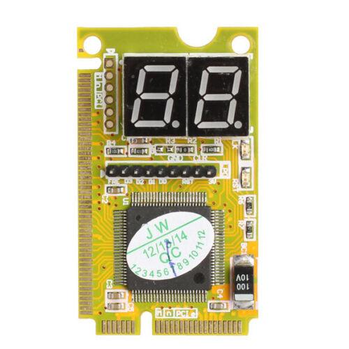 3IN1 Mini PCI PCI-E LPC PC Analyzer Tester Notebook Combo Debug Card  20