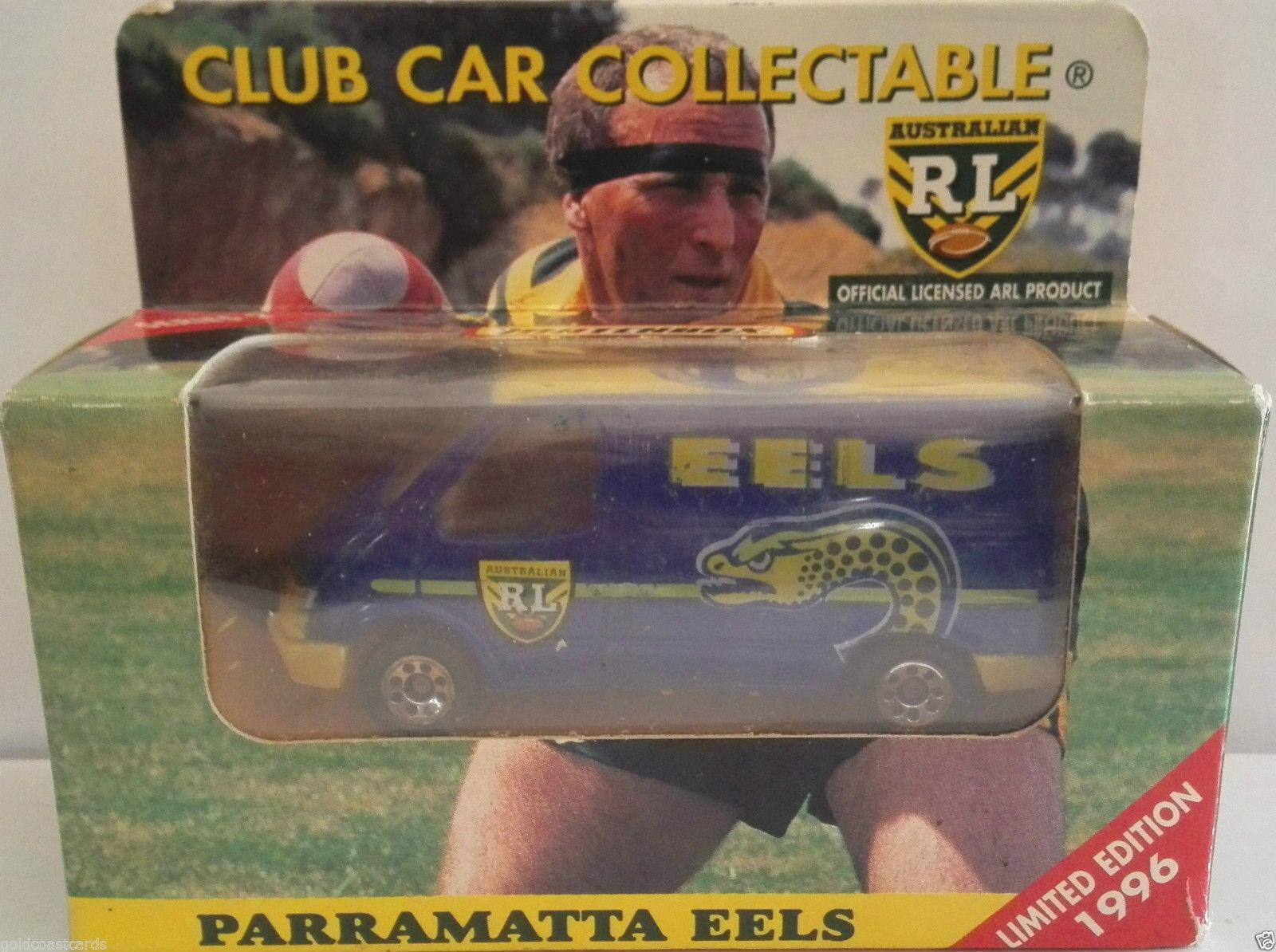Matchbox 1 64 ARL  Australia  Rugby Leage Paramatta Eels