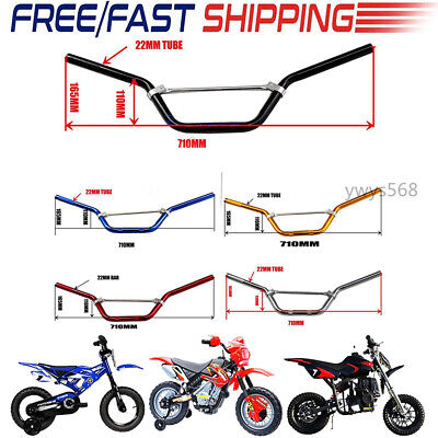 22mm Handle Bar Pad Riser Grips For Dirt Pit Bike XR50 CRF50 CRF70 KLX110 SSR