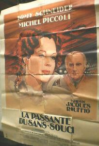 XXL Filmplakat,Plakat, LA PASANTE DU SANS SOUCI ,ROMY SCHNEIDER,M. PICCOLI # 95