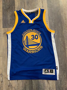 New Steph Curry Golden State Warriors Adidas Jersey Small Swingman ...