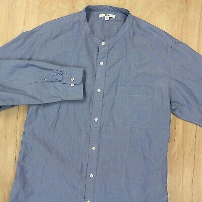 Oxford Cloth Shirt Uniqlo Shirt New-without-Tags Light Gray Medium Slim