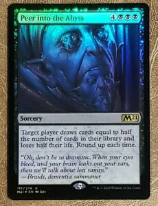 4x Peer into the Abyss Core 2021 M21 Card #117 x4