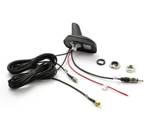Antenna Auto Tetto Antenna Shark Universale FM RADIO GPS Navi Telefono GSM