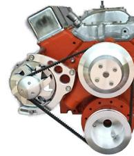 Small Block Chevy Alternator Bracket Long Water Pump New Circles Sbc Lwp 350