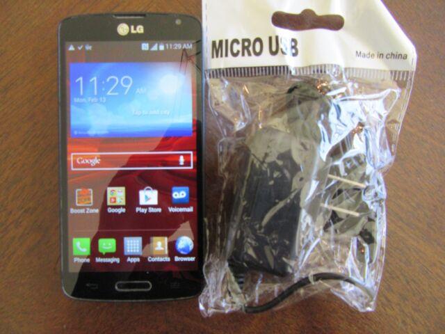 LG Volt LS740 - 8GB - Black (Boost Mobile) Smartphone