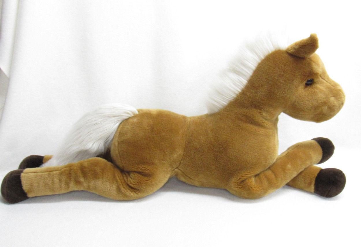 DOUGLAS LARGE BROWN CHESTNUT HORSE PLUSH PLUSH