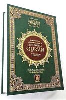 The Noble Quran Arabic Text with English Language Translation (Large Hardback)