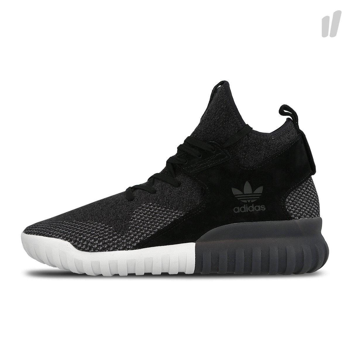 Adidas originali originali Adidas tubulare x pk scarpe da uomo taglia 10,5 nero grigio bianco bb2379 nuova c98b3b