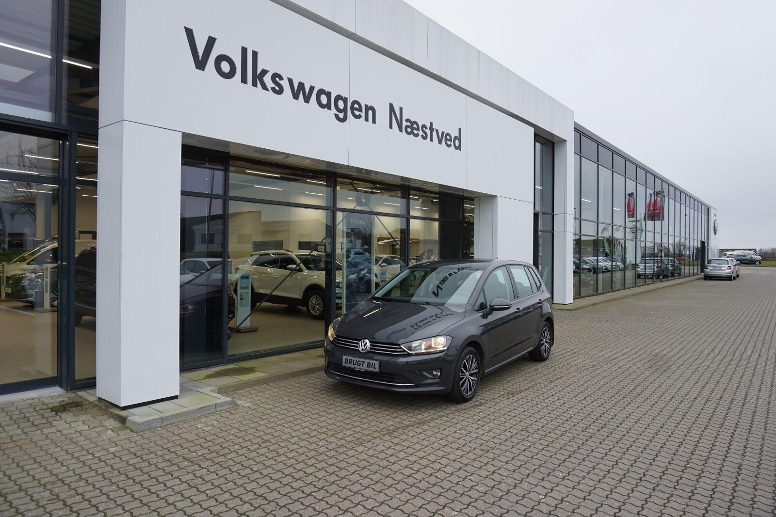 VW Golf Sportsvan 1,4 TSi 125 Allstar DSG BMT 5d - 219.900 kr.