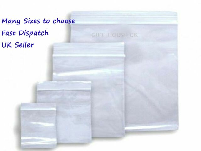 CLEAR PLASTIC 3x5 ZIP LOCK BAG BAGGIES 1000 CASE HIGH QUALITY JSP JEWELRY COIN